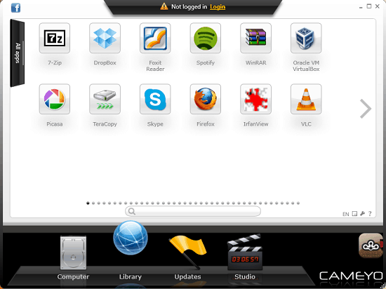 Portable App Creator - Cameyo