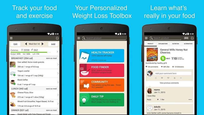 Εφαρμογή για την απώλεια βάρους - Fooducate Healthy Weight Loss