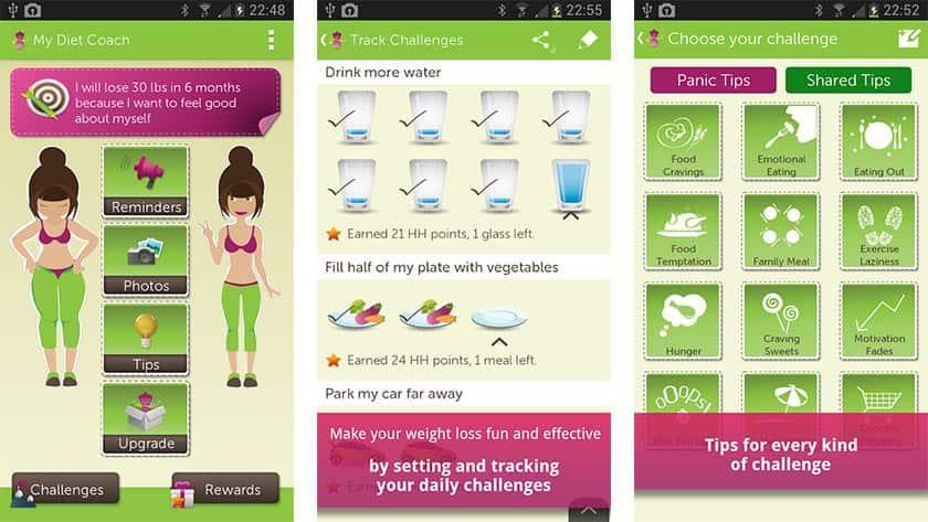 Εφαρμογή για την απώλεια βάρους - My Diet Coach – Weight Loss
