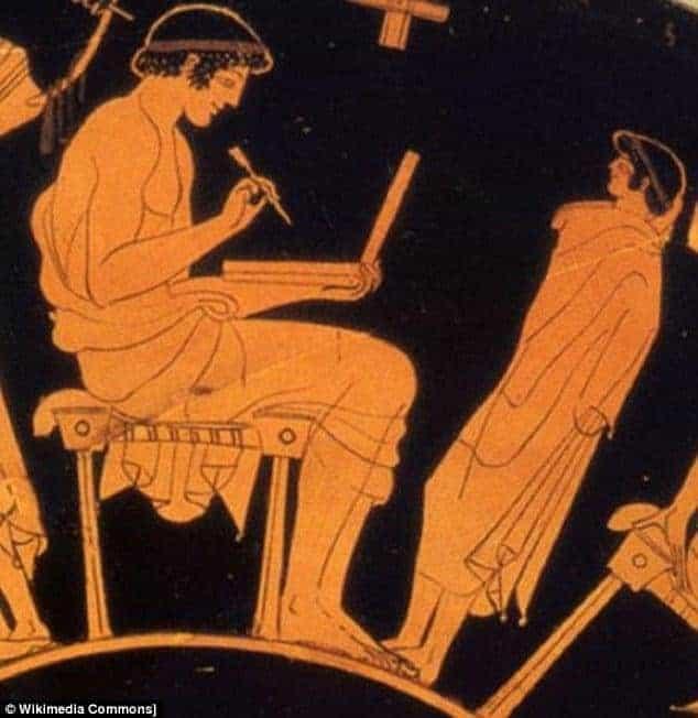 Οι αρχαίοι Έλληνες είχαν laptop!;;;