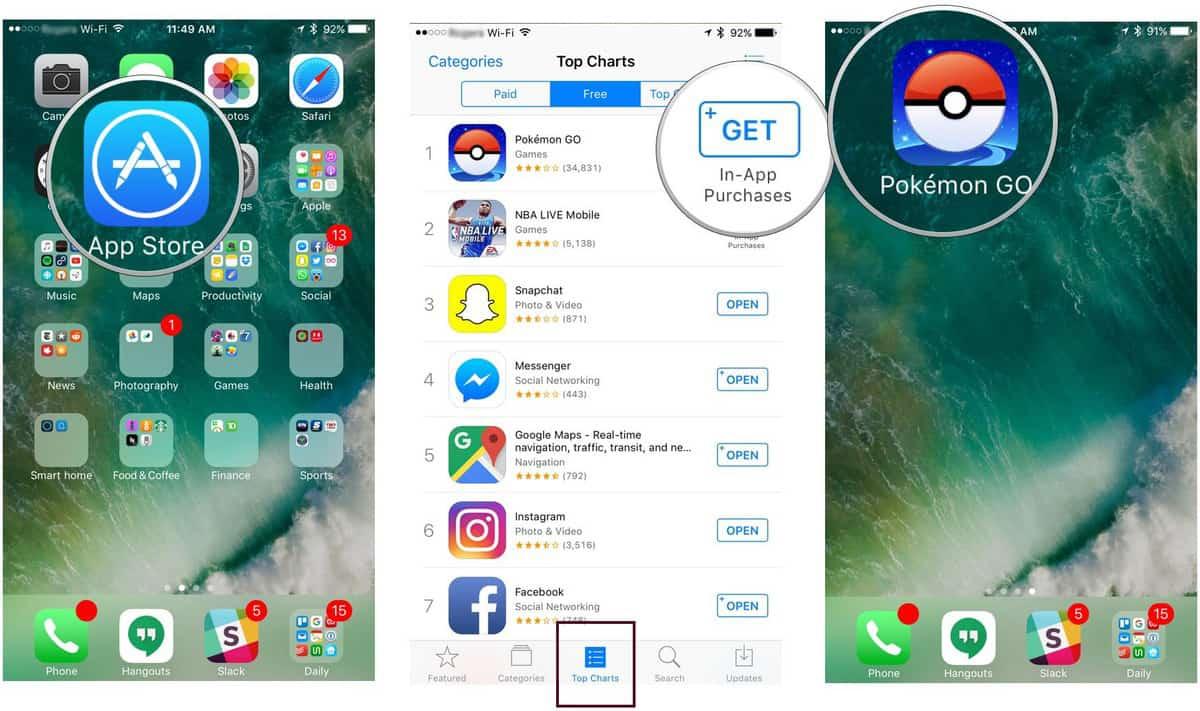Pokemon Go - Εγκάσταση iOS