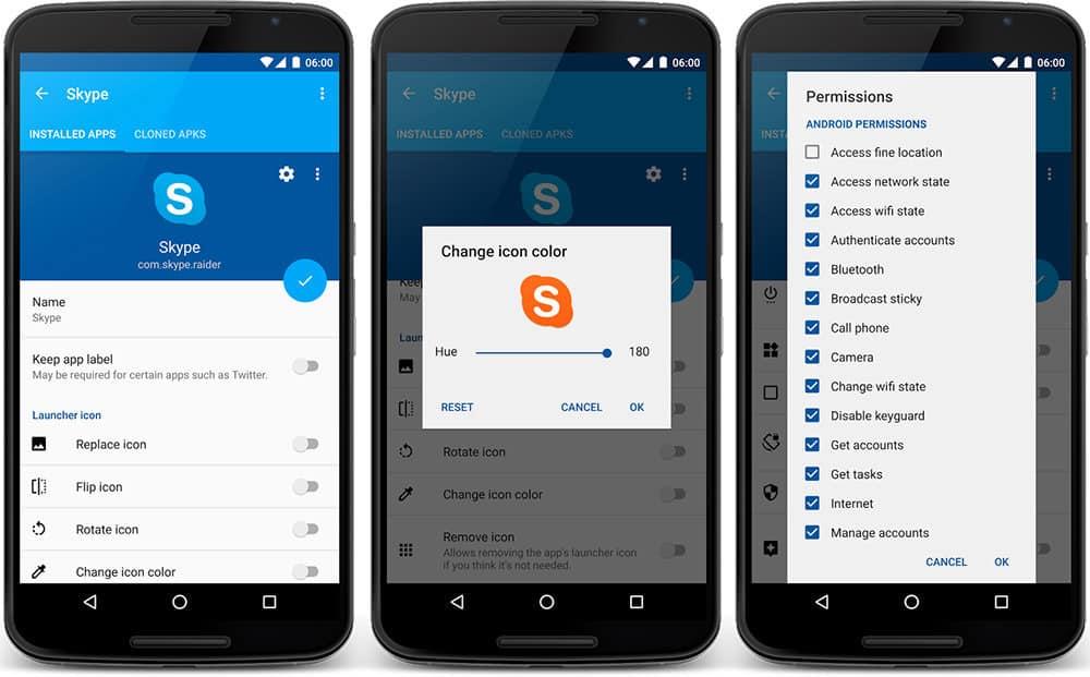 App Cloner για πολλαπλούς λογαριασμούς