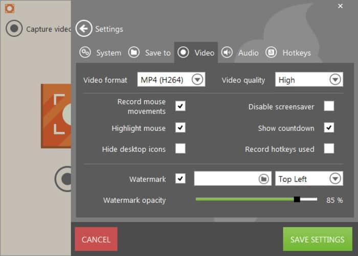 Τα καλύτερα δωρεάν screen recorder προγράμματα για Windows 3
