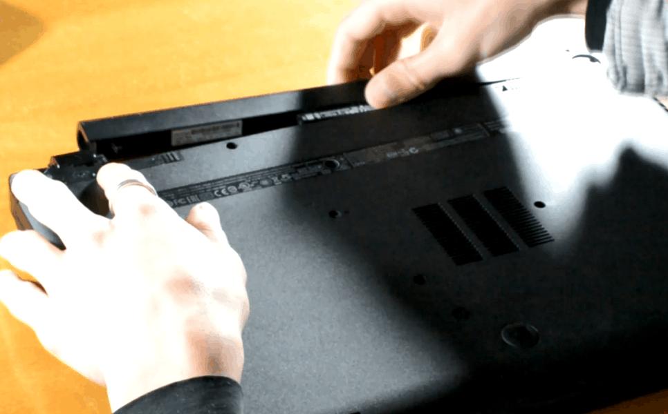 Αλλαγή σκληρού δίσκου σε laptop