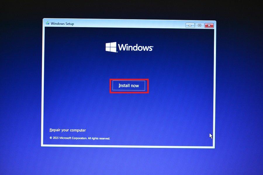 Εγκατάσταση Windows 10 (format)