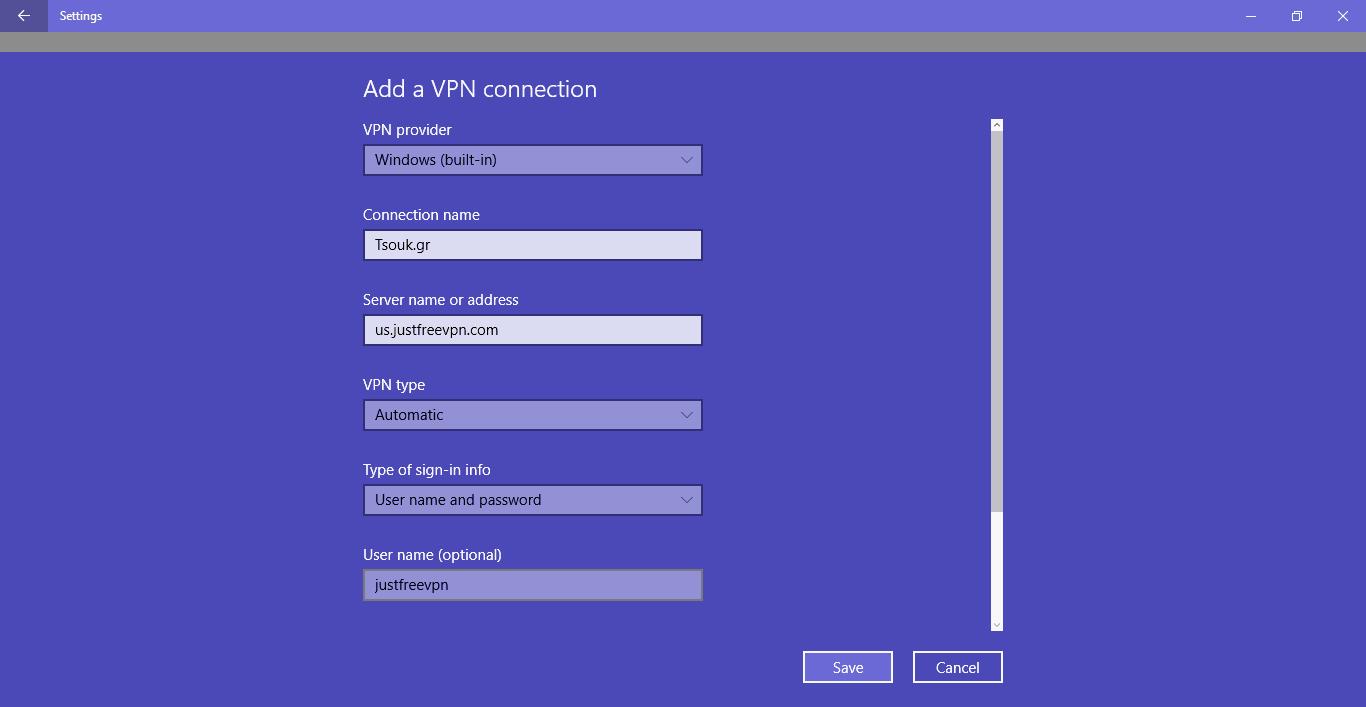 VPN οδηγός - Πως να βάλεις VPN στα Windows 10