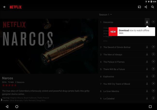 Πως να κατεβάζεις ταινίες και σειρές από το Netflix