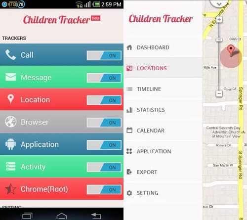 2. Children Tracker