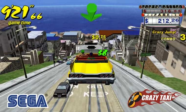 Crazy Taxi: Κατέβασε δωρεάν το arcade παιχνίδι στο Android και iOS