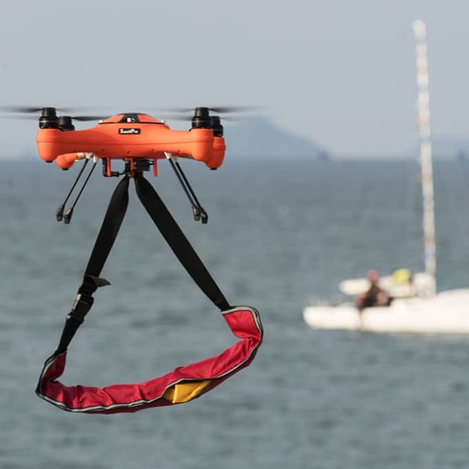 Splash Drone 3: Ο Aquaman των drones που κολυμπάει στο νερό