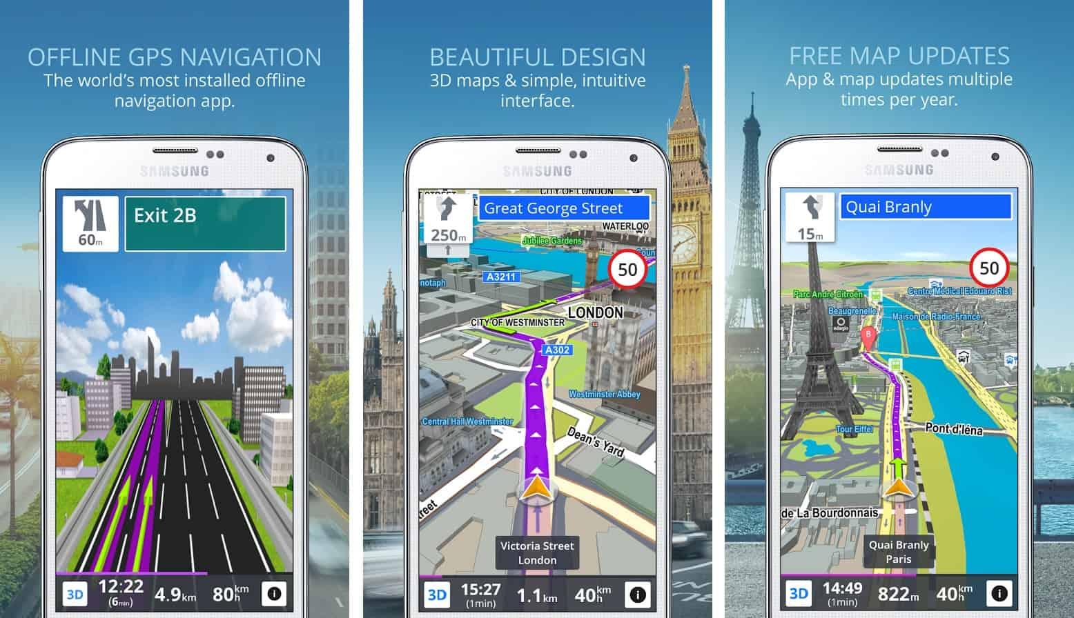 Δωρεάν GPS εφαρμογές για Android, iOS και Windows Phone