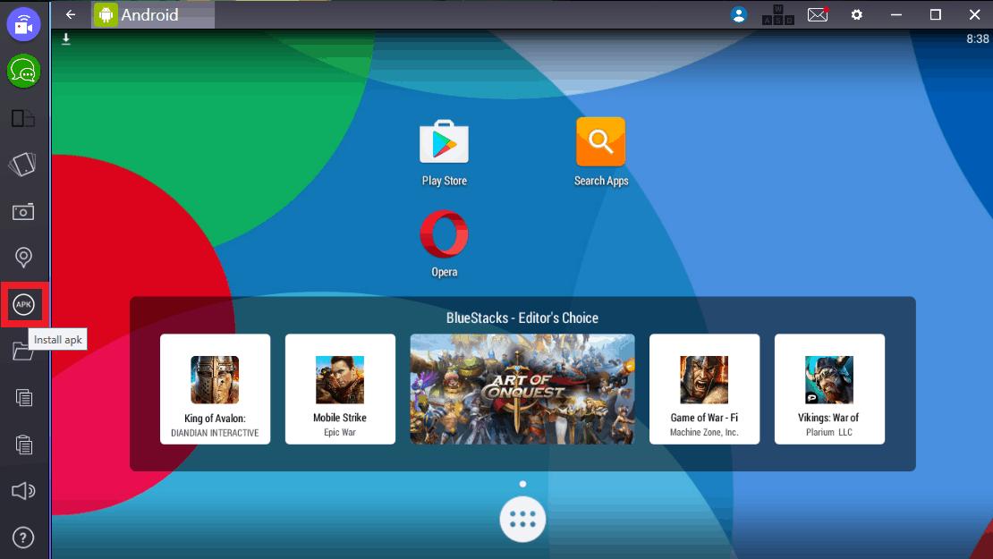 BlueStacks - Εγκατάσταση Android εφαρμογών στα Windows