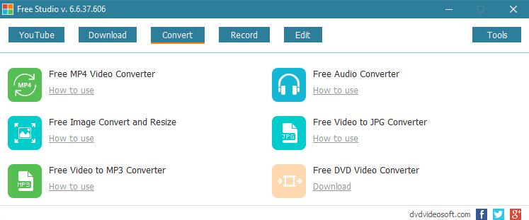 Free Studio: Δωρεάν πρόγραμμα με πολλαπλές εφαρμογές και εργαλεία