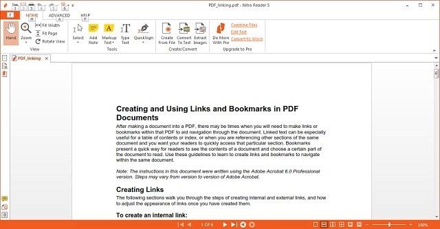 Nitro PDF Viewer