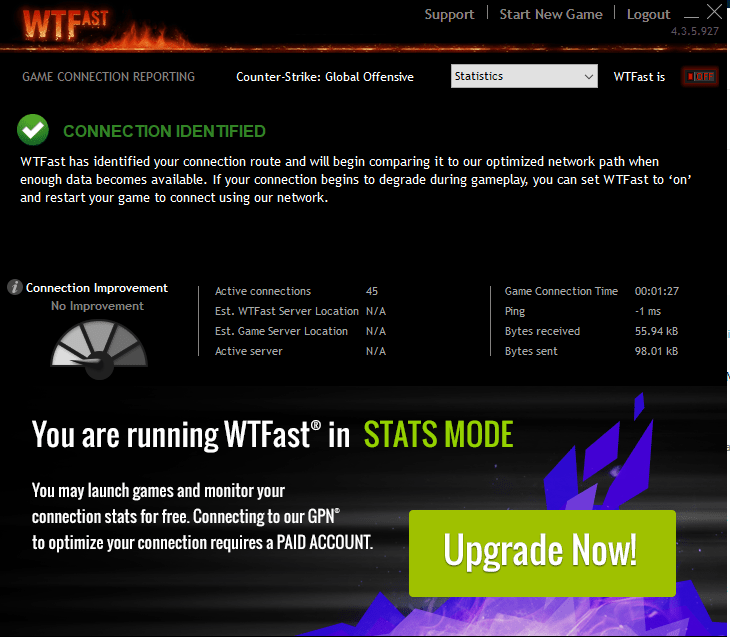 WTFast GameBooster