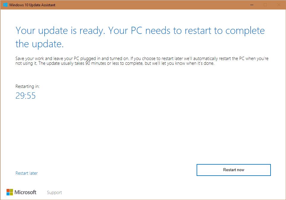 Windows 10 Creators Update Tool 9
