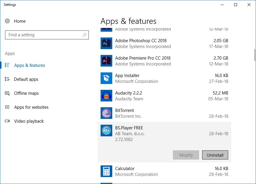 Windows 10 - Απεγκατάσταση προγραμμάτων και εφαρμογών