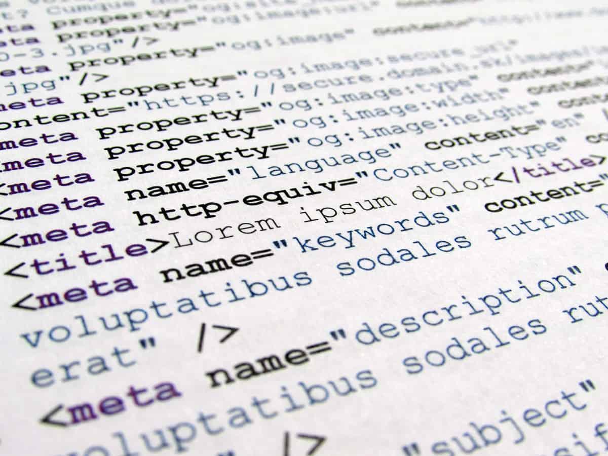 HTML γλώσσα προγραμματισμού