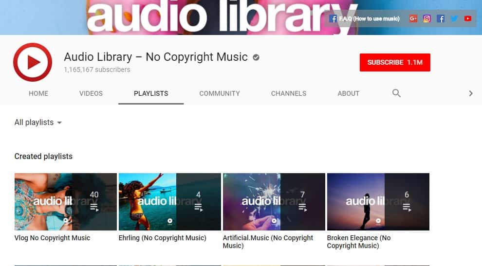 Audio Library - No Copyright Music
