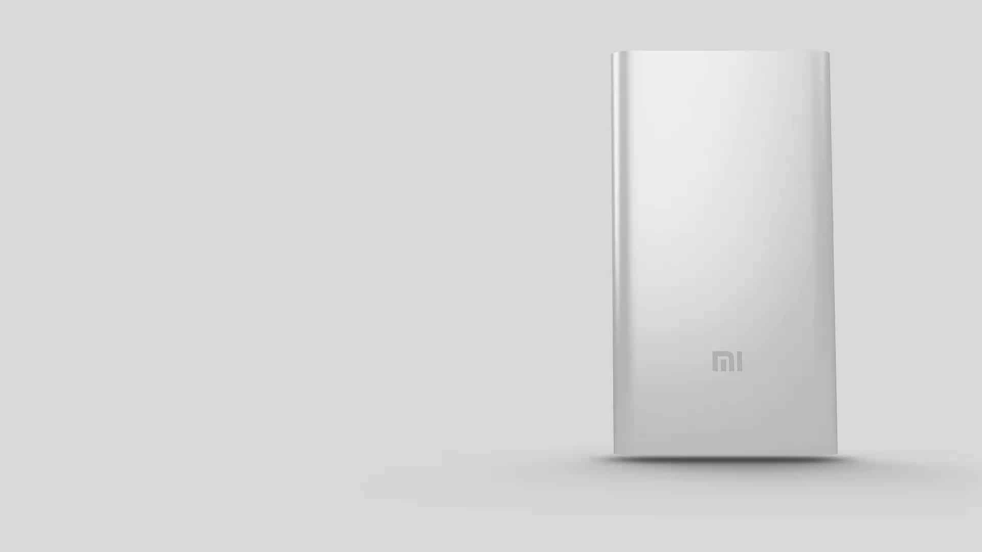 Original Xiaomi 5000mAh Mobile Power Bank Li-Polymer Battery Charger - SILVER 120071401