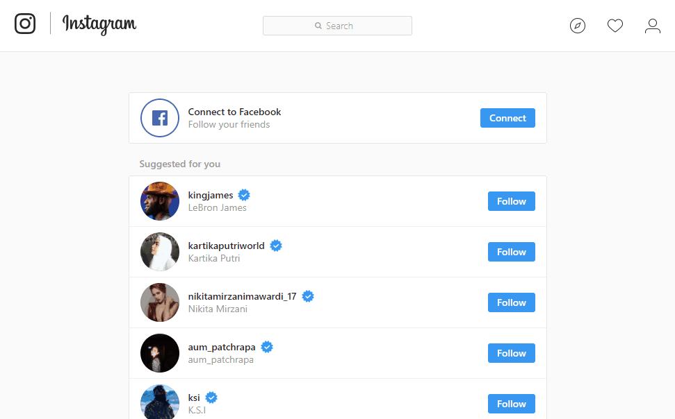 Δημιουργία Instagram λογαριασμού