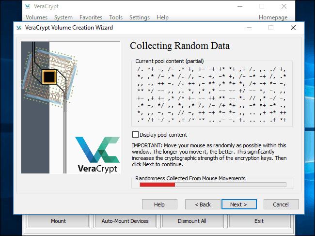 Κρυπτογράφηση του σκληρού δίσκου στα Windows με το VeraCrypt