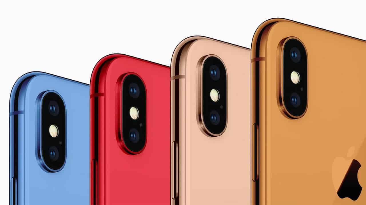 Apple-iphoneX-collors