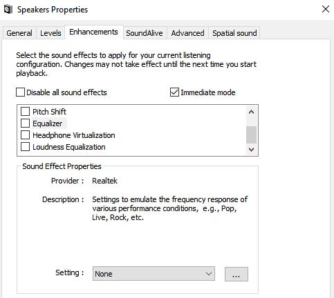 Δωρεάν Equalizers για τα Windows 10 για ισοστάθμιση των κομματιών