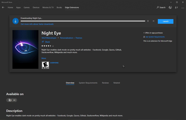 Dark Mode - Κάνε όλες τις ιστοσελίδες σε μαύρο χρώμα με το 'Night Eye' 2