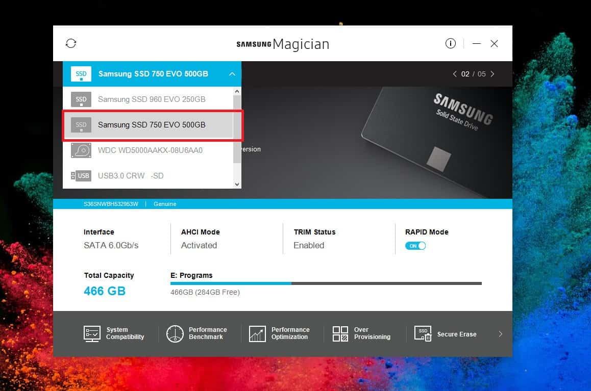 Τι είναι το Rapid Mode στους Samsung SSD δίσκους 1