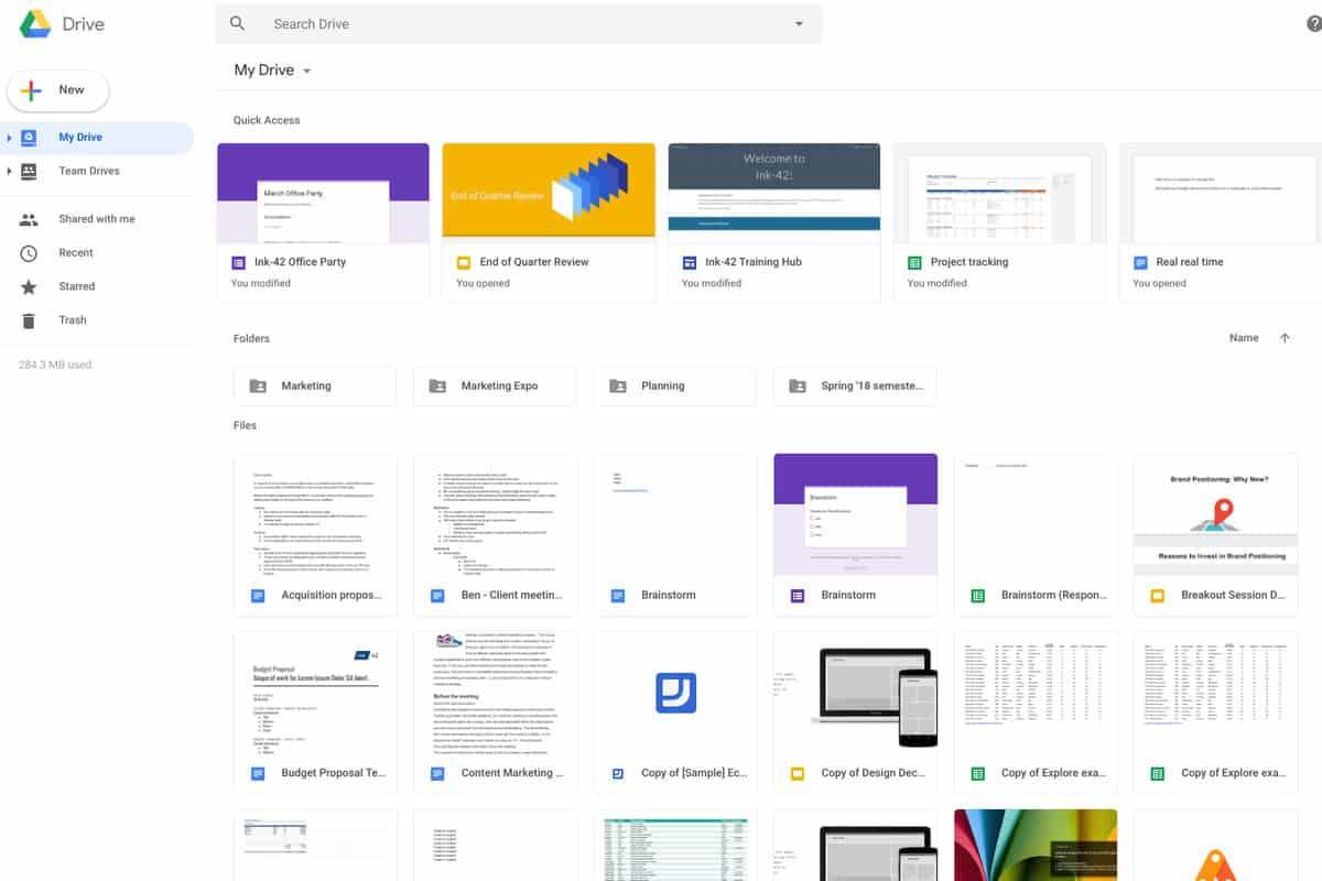 Google Drive: Σουίτα προγραμμάτων και cloud υπηρεσία