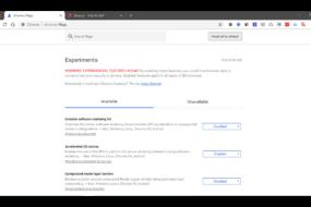 Google Chrome Flags που αξίζει να ενεργοποιήσεις