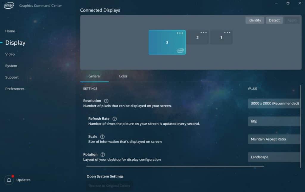 Intel Graphics Command Center - Δωρεάν εφαρμογή για ενημέρωση των drivers 1