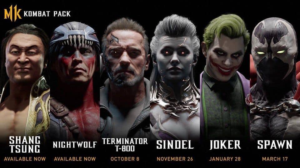 Έξι νέους χαρακτήρες αποκτά το Mortal Kombat 11