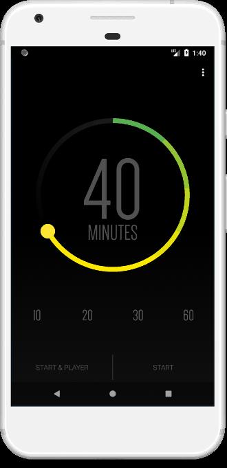 ενσωμάτωση με το Spotify - Sleep Timer