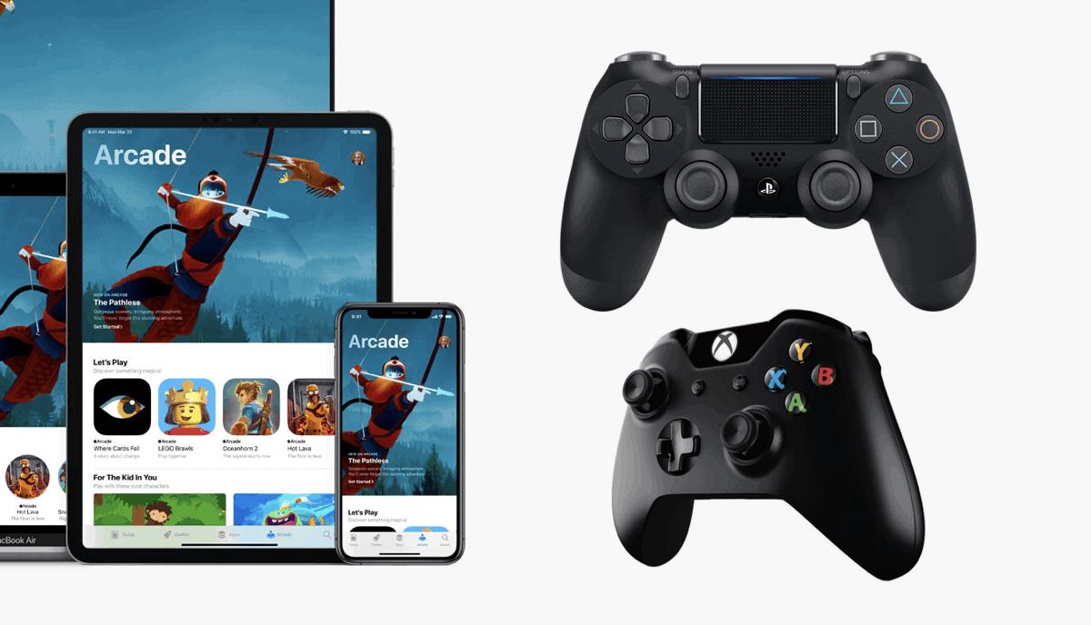 Σύνδεσε ένα Xbox ή PS4 DualShock controller σε iOS συσκευή
