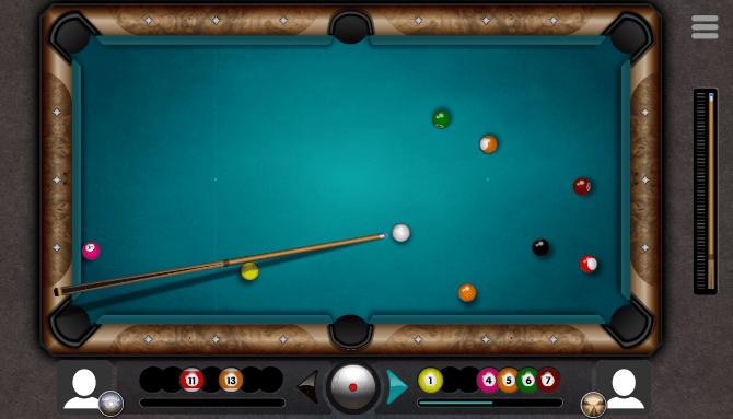 διπλό παιχνίδι μπιλιάρδο 8 ball online