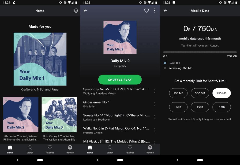 Spotify Streaming music app