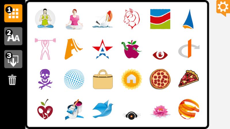 LogoFactoryApp Δωρεάν εφαρμογές για σχεδιασμό λογοτύπου