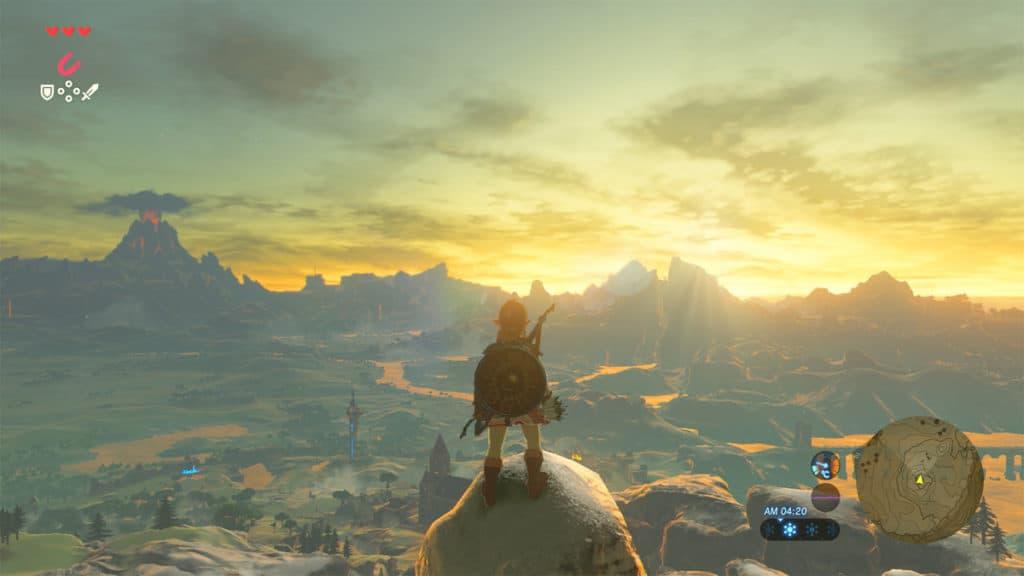 Legend of Zelda Breath of the Wild Τα καλύτερα παιχνίδια του Nintendo Switch