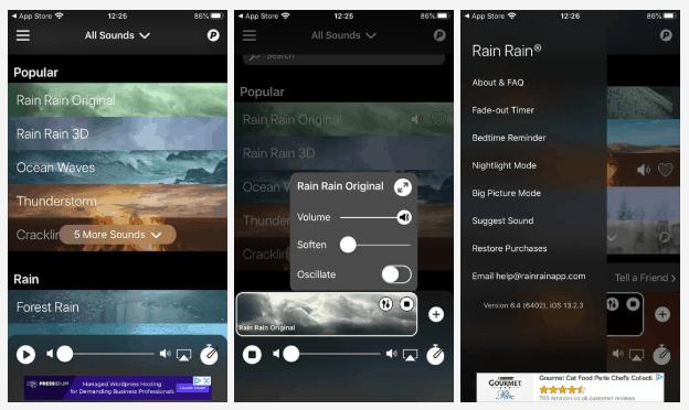 Rain Rain Sleep Sounds sleep apps
