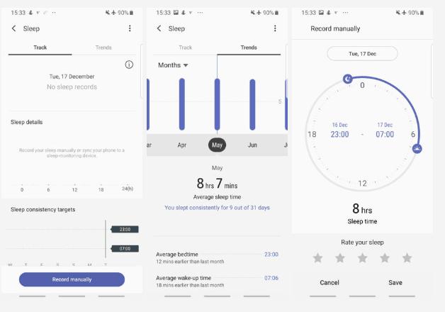 Samsung Health android ios