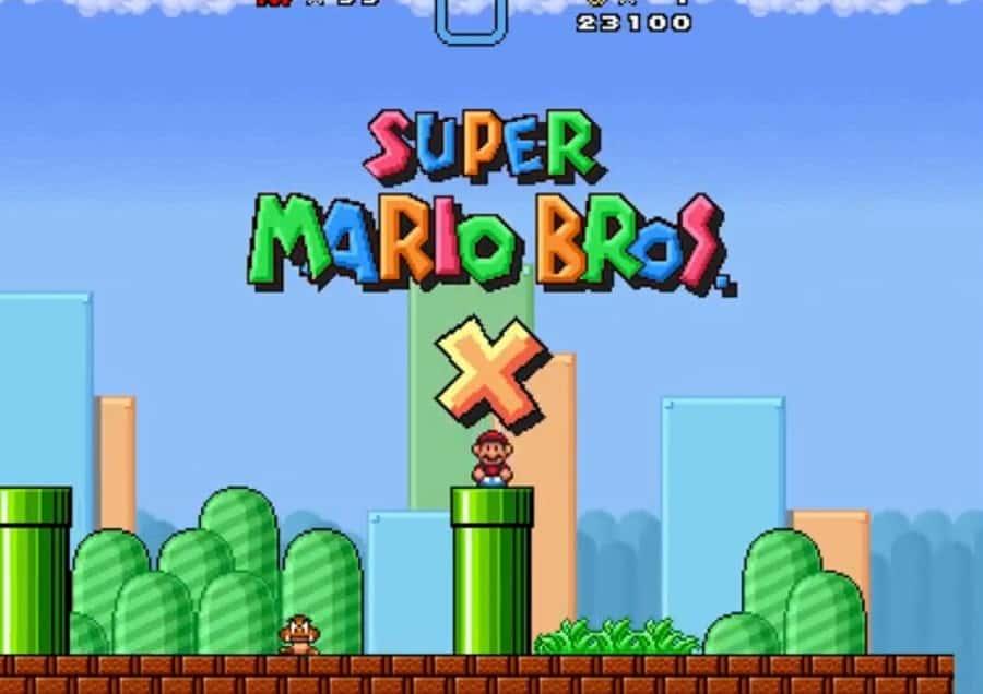 Super Mario Bros X fan made
