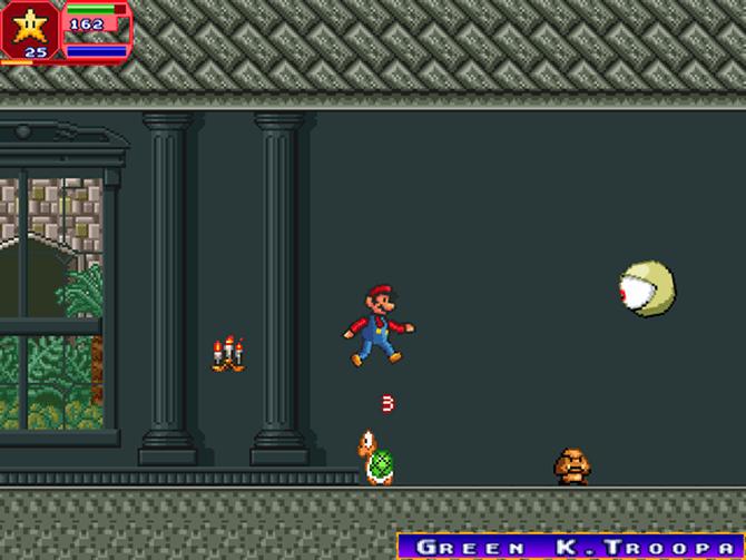 Κατέβασε 7 δωρεάν Super Mario παιχνίδια castlevania-mashup