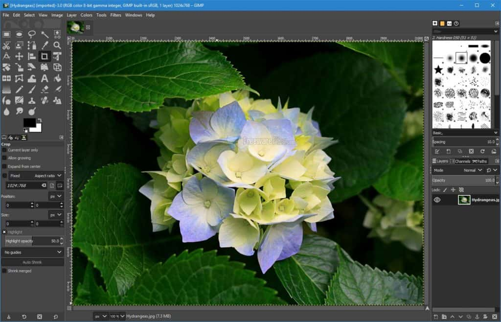 gimp επεξεργασία φωτογραφιών δωρεάν