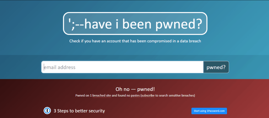 have i been pwned