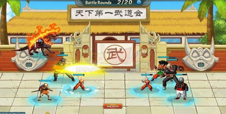 dragonball z online game