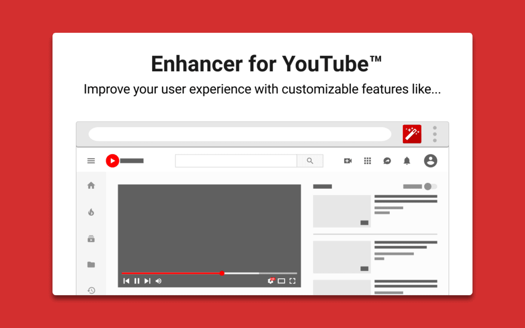 enchancer for youtube