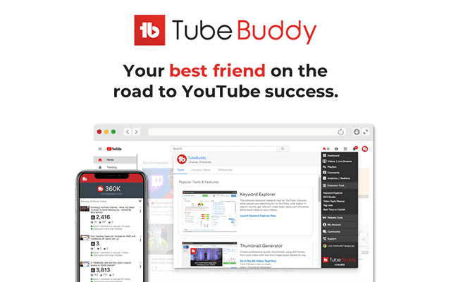 tubebuddy firefox add-on