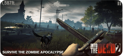 Into the Dead 2, mobile games, παιχνίδια iPhone